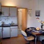 Apartement 2 Küche Essbereich Ostsee
