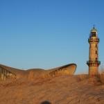 fewo Leuchtturm Warnemünde Strand Ostsee